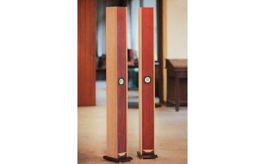共鳴管タワー型スピーカー