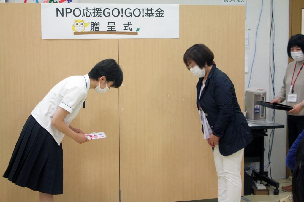 「第2回NPO応援GO!GO!基金」採択団体:表現の絆みらい kick ton ton 基山
